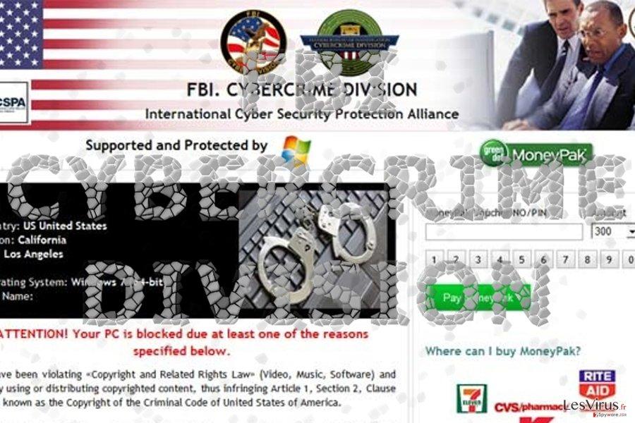 FBI Cybercrime Division virus