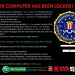 instantanea di FBI Virus Black Screen