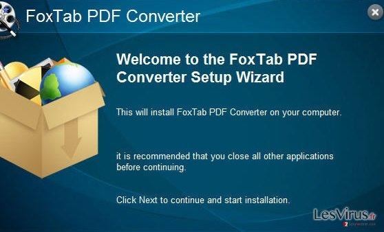 instantanea di FoxTab Pdf Converter