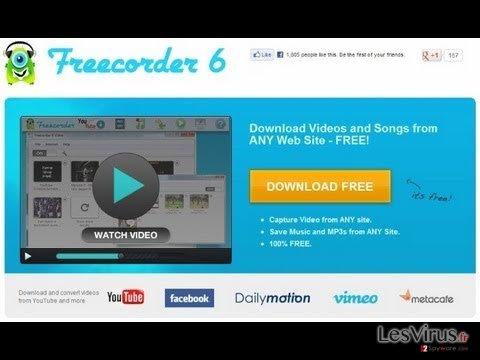 instantanea di Freecorder