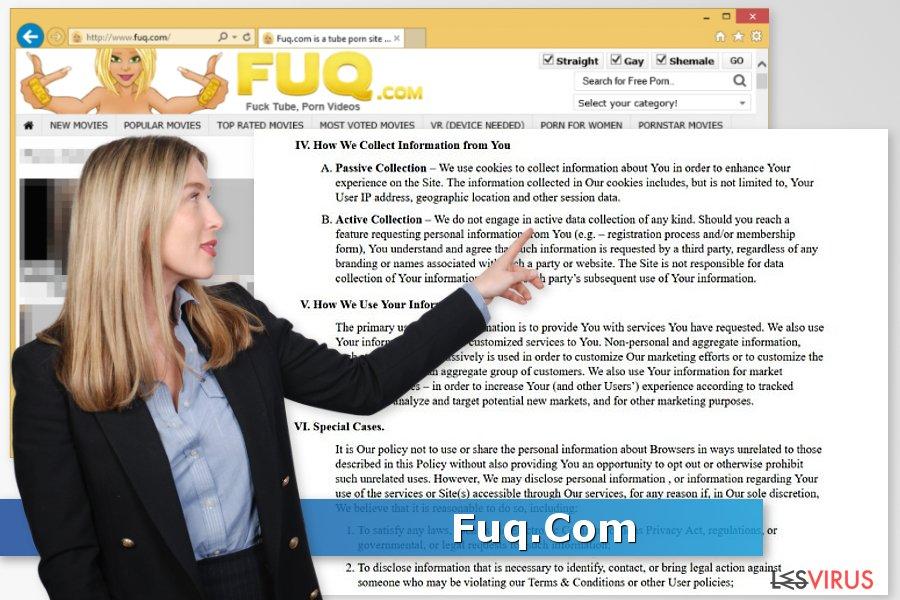 instantanea di Il virus Fuq.Com