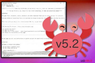 Il ransomware GandCrab 5.2