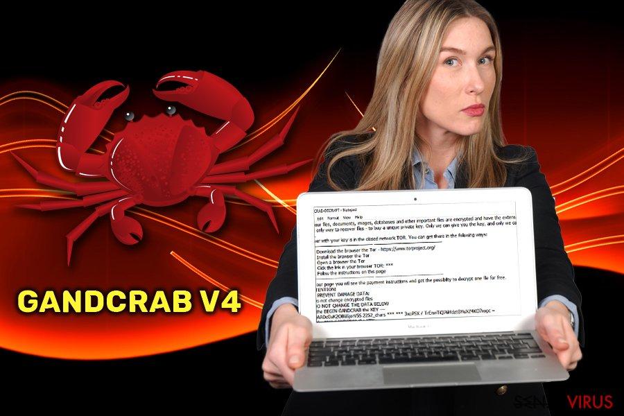 Il ransomware GandCrab v4