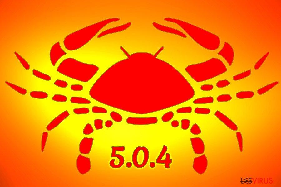 Il ransomware GandCrab 5.0.4