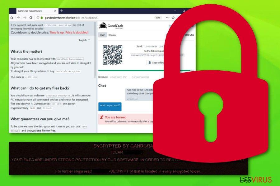 Il ransomware Gandcrab 5.1