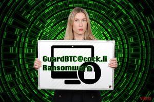 Il ransomware GuardBTC@cock.li