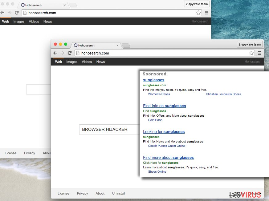 Hohosearch.com virus