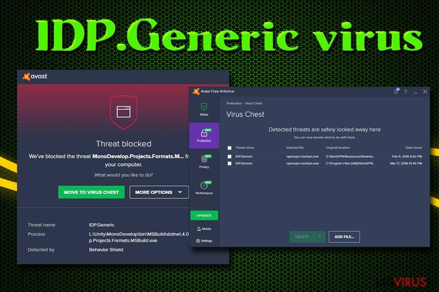 Il virus IDP.Generic