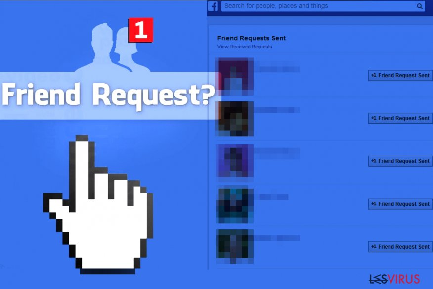 Il Virus Facebook Friend Request