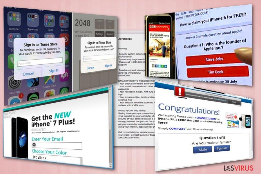 La truffa del concorso iPhone