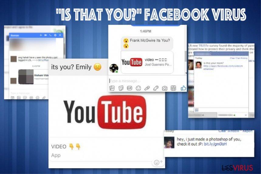 """Il messaggio virus di Facebook """"Sei tu questo"""""""