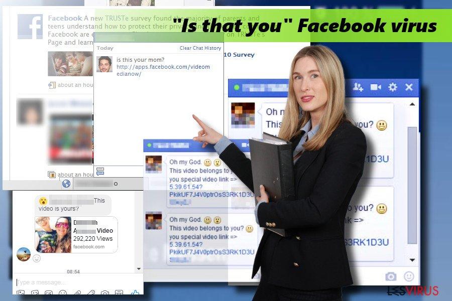 """Il virus di Facebook """"Sei tu questo"""""""