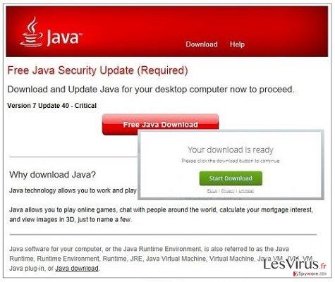 instantanea di Annunci pop-up Jsd.pathjava.net