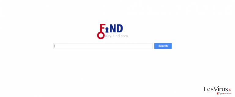 instantanea di Il virus Key-Find.com