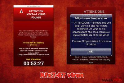 La truffa del virus Kfx7-67