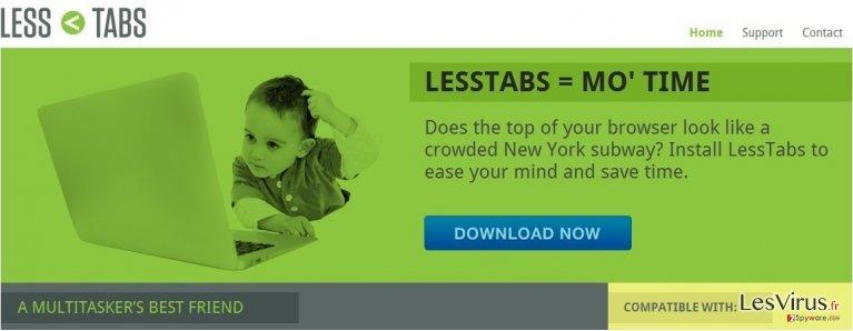 instantanea di Less Tabs