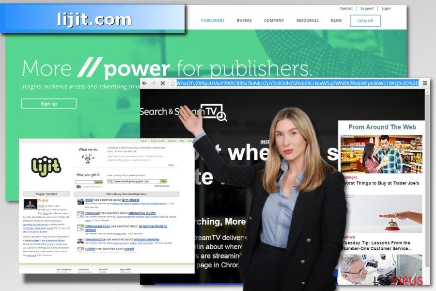 Un'immagine del virus lijit.com