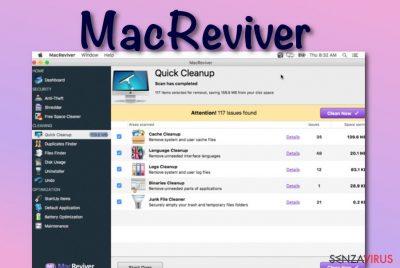 Il virus MacReviver