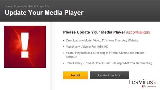 instantanea di Le pubblicità di MediaPlayersvideos 1.1