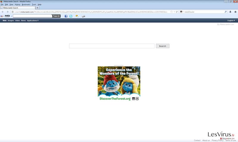 instantanea di Metacrawler Toolbar