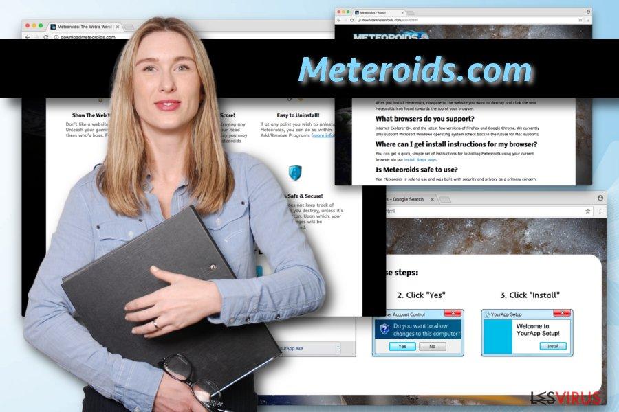 instantanea di Il virus Meteoroids