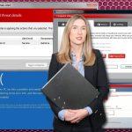 instantanea di Microsoft Security Essentials Alert virus