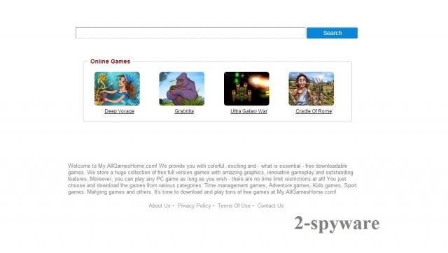 instantanea di my.allgameshome.com