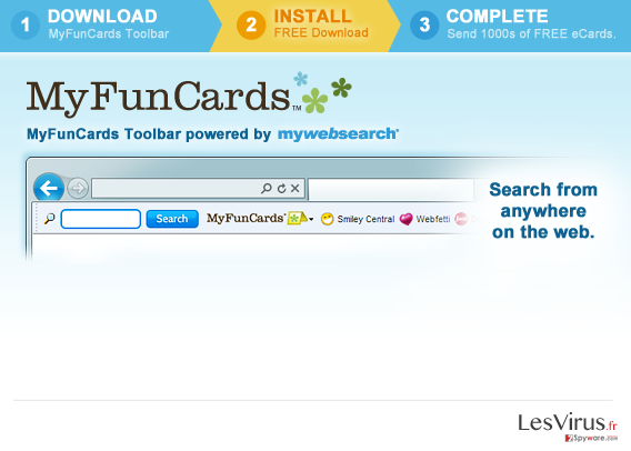 instantanea di MyFunCards Toolbar