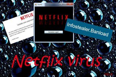 I virus legati a Netflix