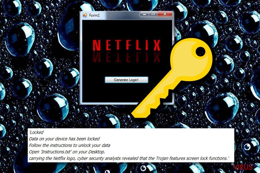 I ransomware legati a Netflix