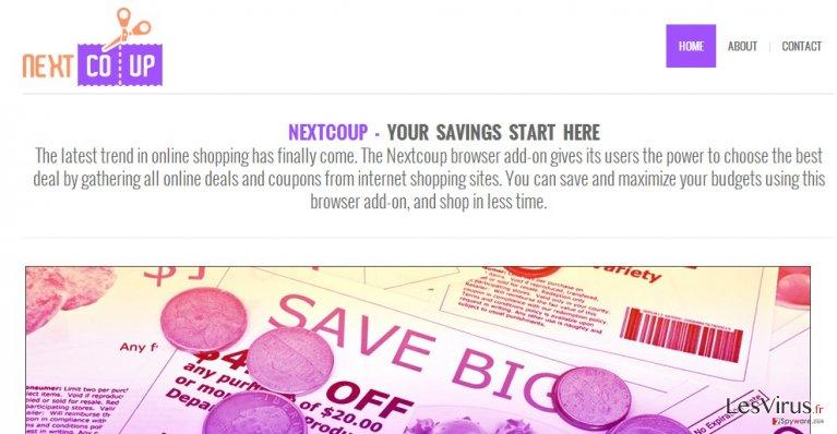 instantanea di La pubblicità di NextCoup