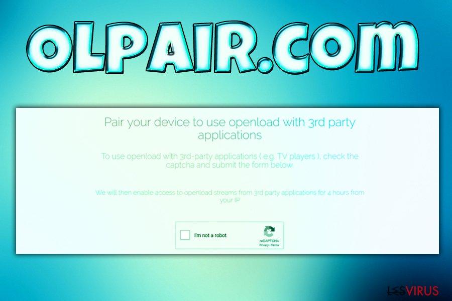 Il virus Olpair.com