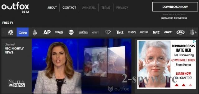 instantanea di Outfox TV