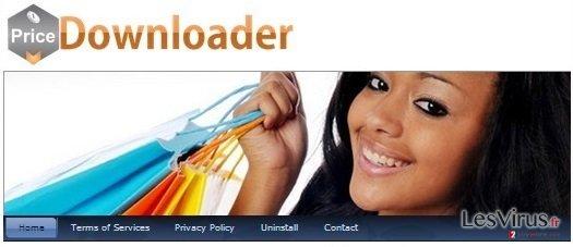 instantanea di L'Adware PriceDownloader