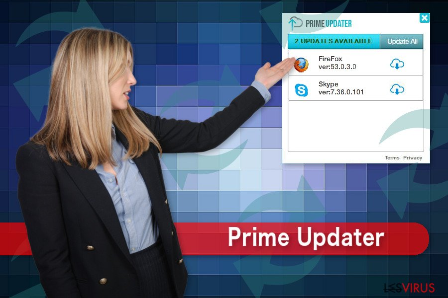 Il virus Prime Updater