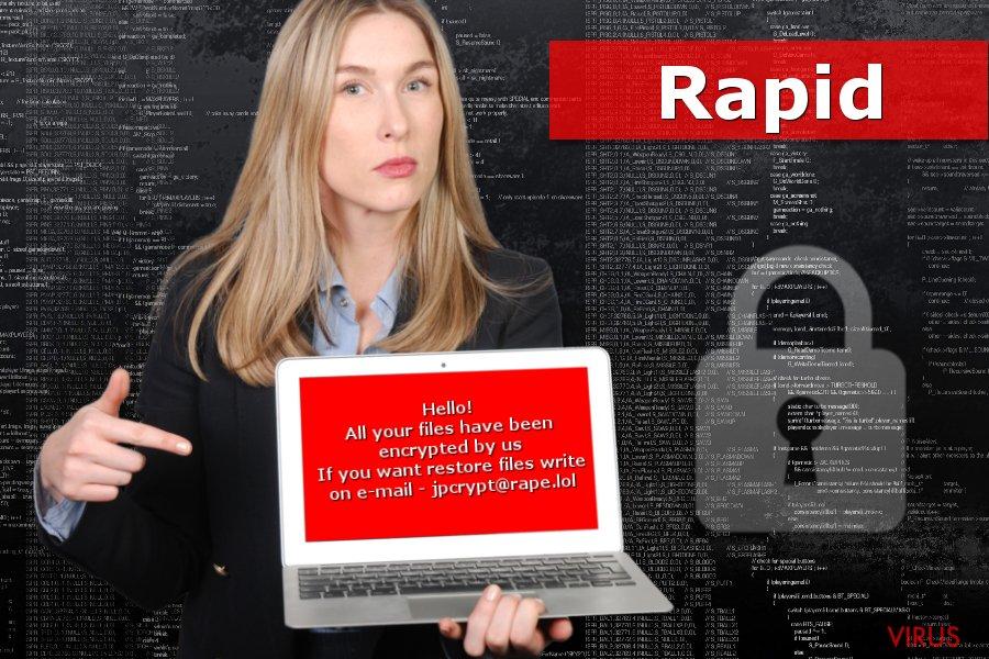 Il ransomware Rapid
