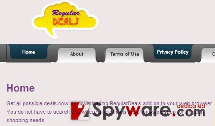 instantanea di Le pubblicità di Regular Deals
