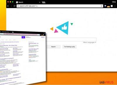 Il virus Search.chill-tab.com