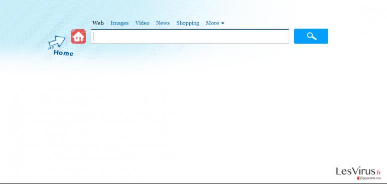 instantanea di Virus Search.genieo.com