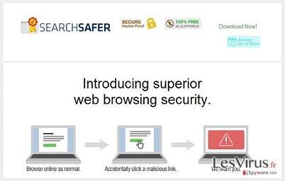 instantanea di Search Safer virus