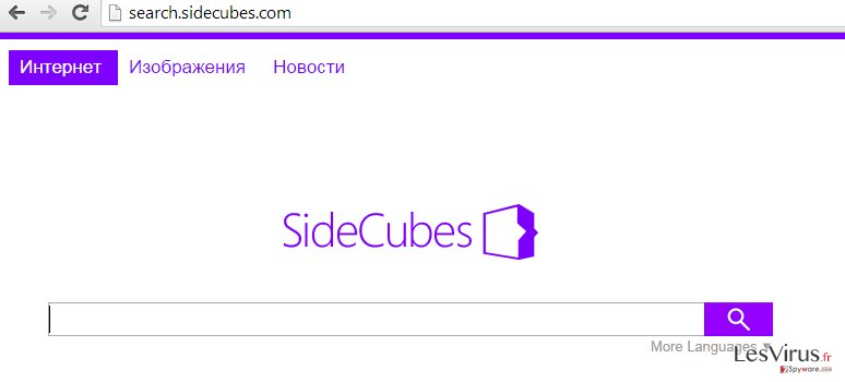 instantanea di search.sidecubes.com