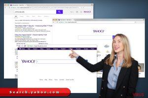 I reindirizzamenti di search.yahoo.com