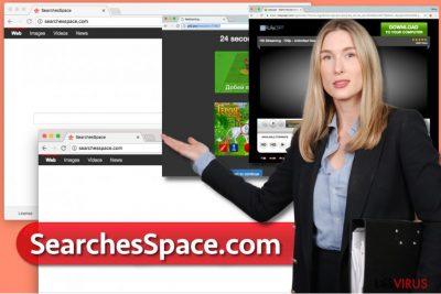 Il virus SearchesSpace