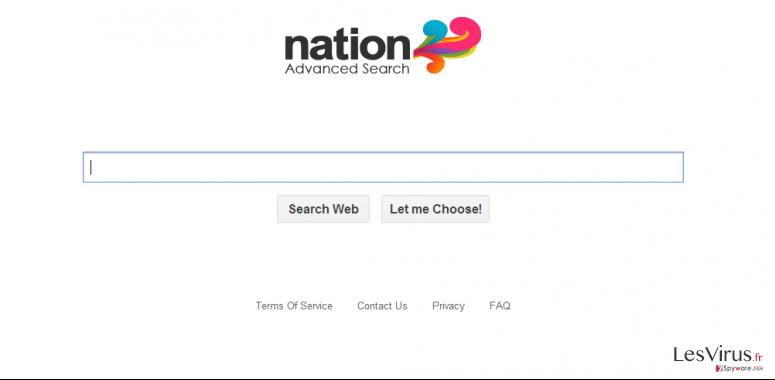 instantanea di Reindirizzamento del virus Searchsafer.com