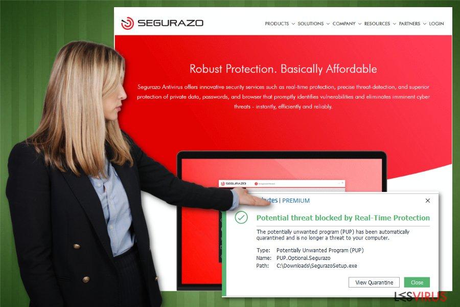 Il tool minaccia Segurazo