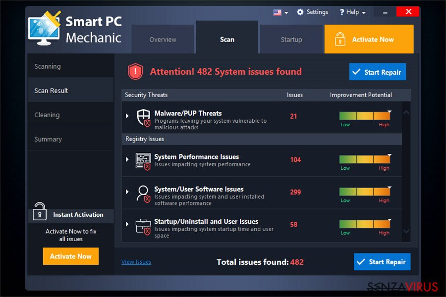 Il software Smart PC Mechanic