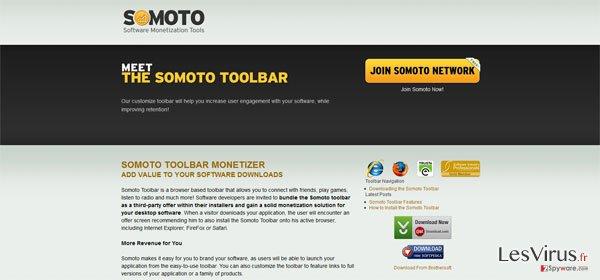 instantanea di Somoto Toolbar