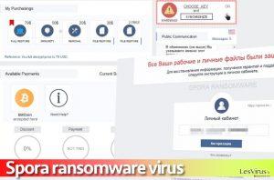 Il virus ransomware Spora