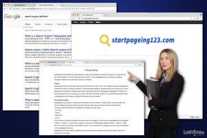 Virus StartPageing123