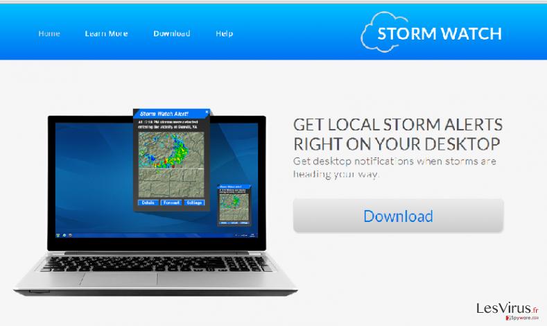 instantanea di Annunci StormWatch